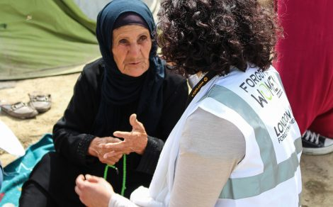 Vulnerable Women of Syria